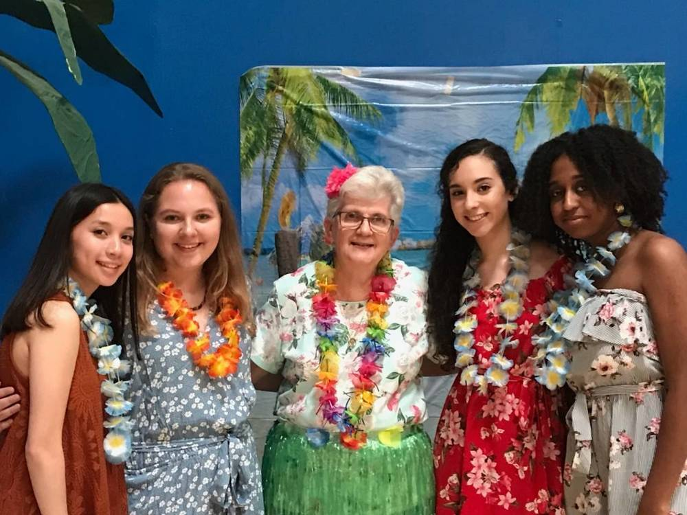 The WHS National Honor Society Hosted the 7th Annual Senior Citizens' Prom