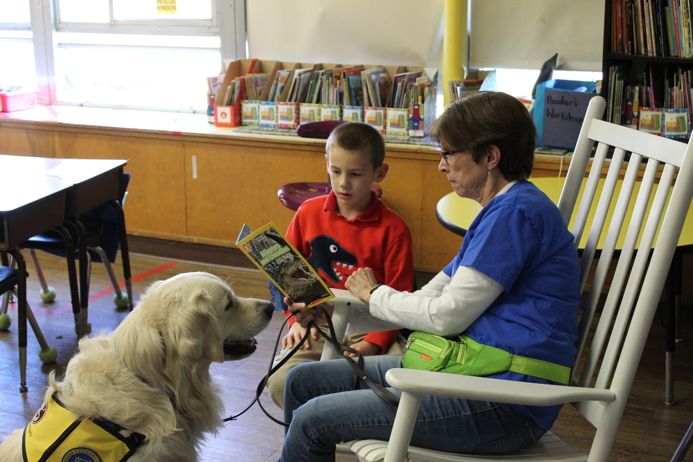 Tails for Tales Visits Taft