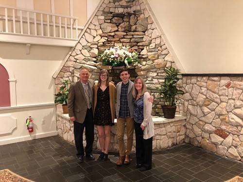 Washingtonville Seniors Honored at Humanities Honoree Breakfast
