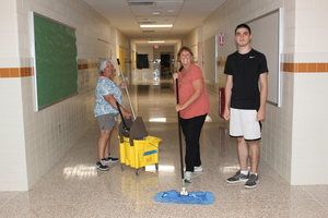 Dedicated Custodians at WCSD