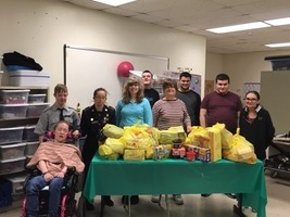 WHS Aspire Class Supports the Washingtonville Food for Kids program