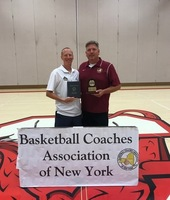 The BCANY Recognized Washingtonville Boys' Basketball Coaches