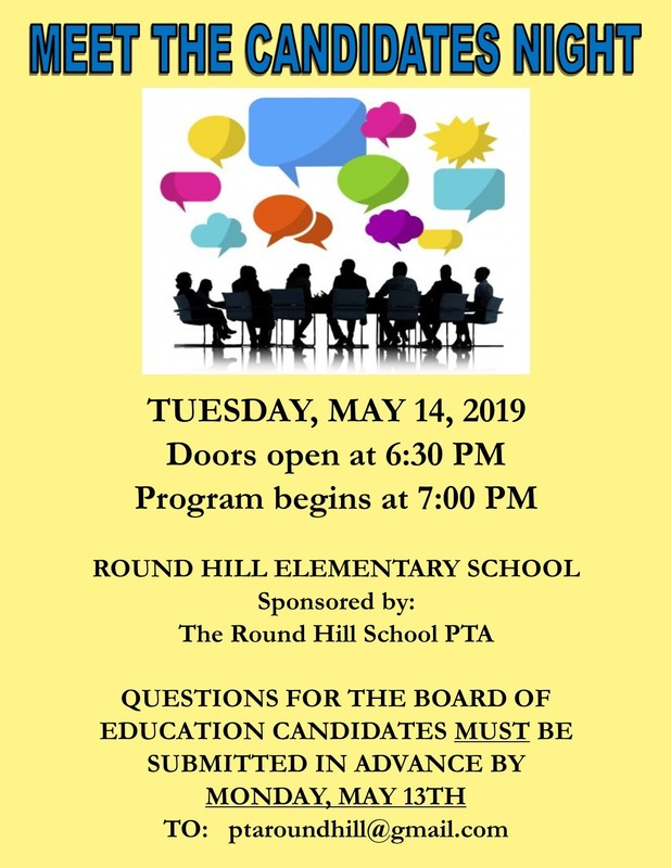 "Round Hill PTA Host ""Meet the Candidates"" Night"